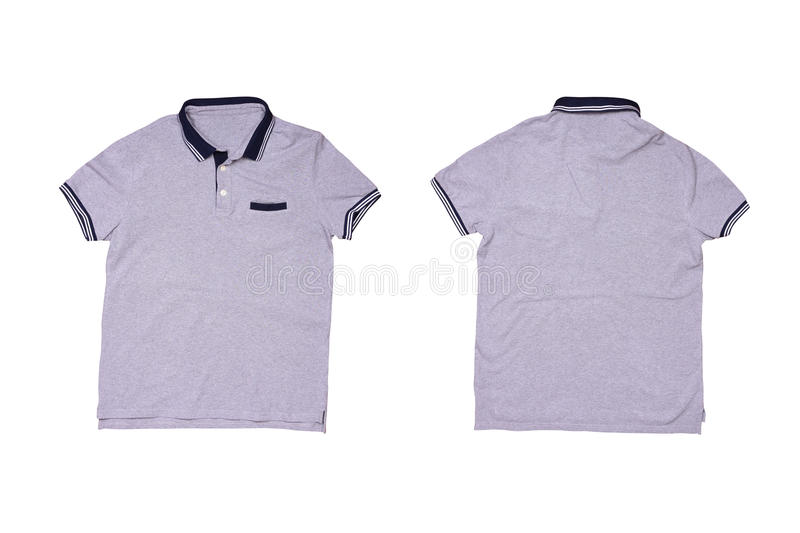 Isolated casual polo shirt stock photo