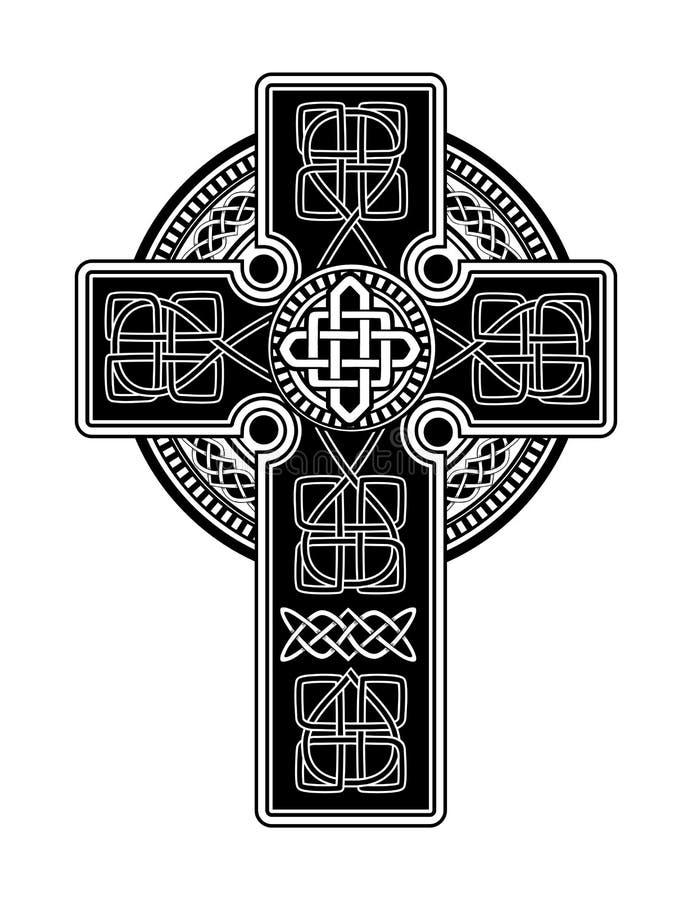 Vector Celtic Cross Stock Vector Illustration Of Elegance 108147297