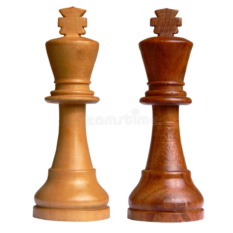 Isolated chess king stock photos