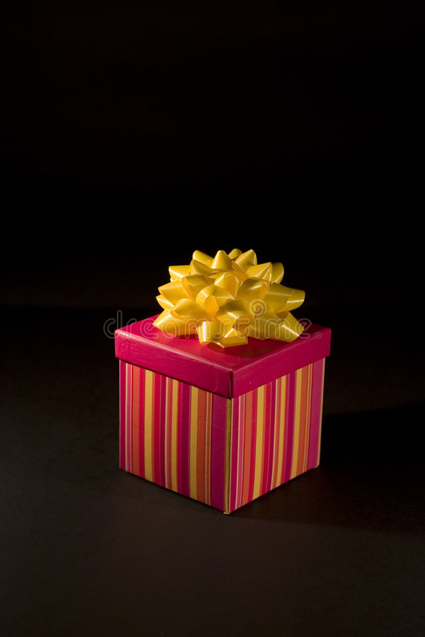 Isolated Christmas Gift. Isolated gift for easy selection stock images