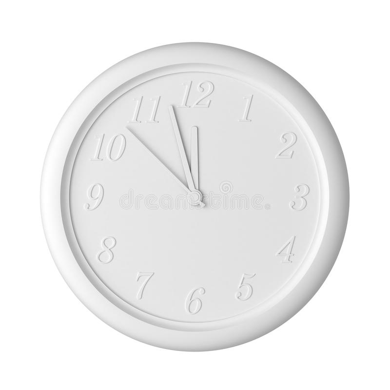 Isolated Clock royalty free stock images