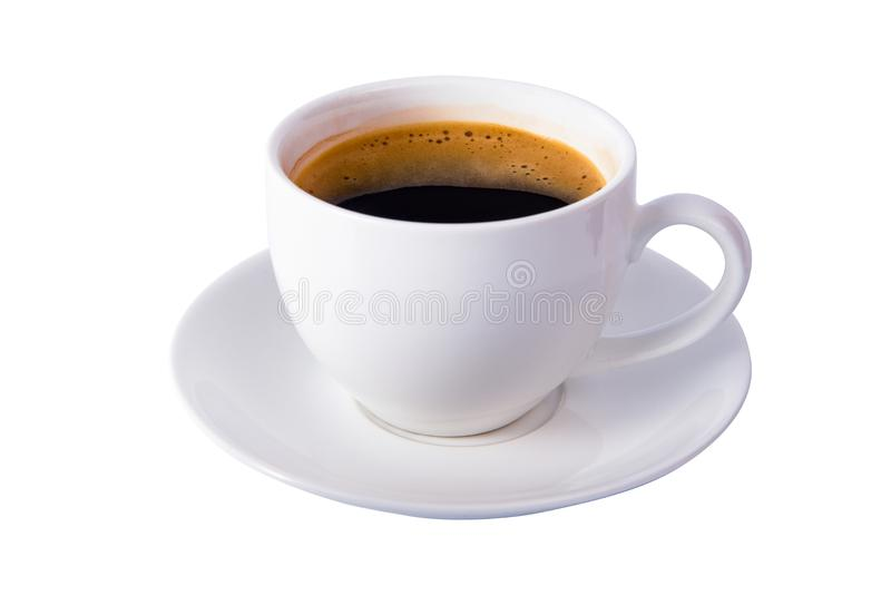 Isolated coffee cup stock photos
