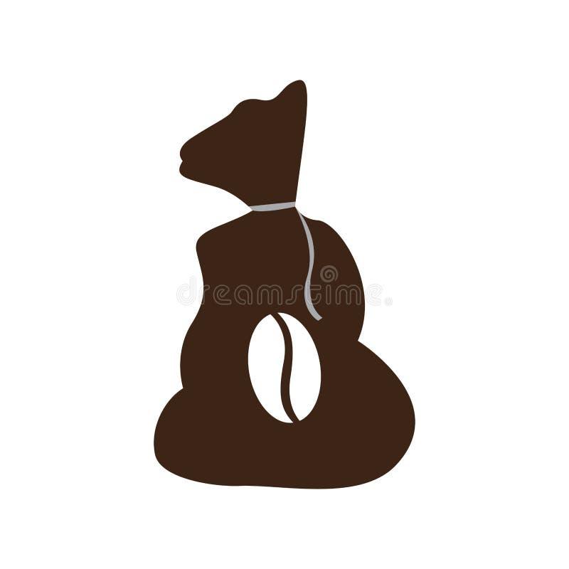 Isolated coffee sack icon. Vector illustration design royalty free illustration