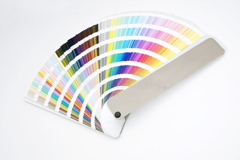 Download Isolated Color Guide - Chart Stock Image - Image: 3114529