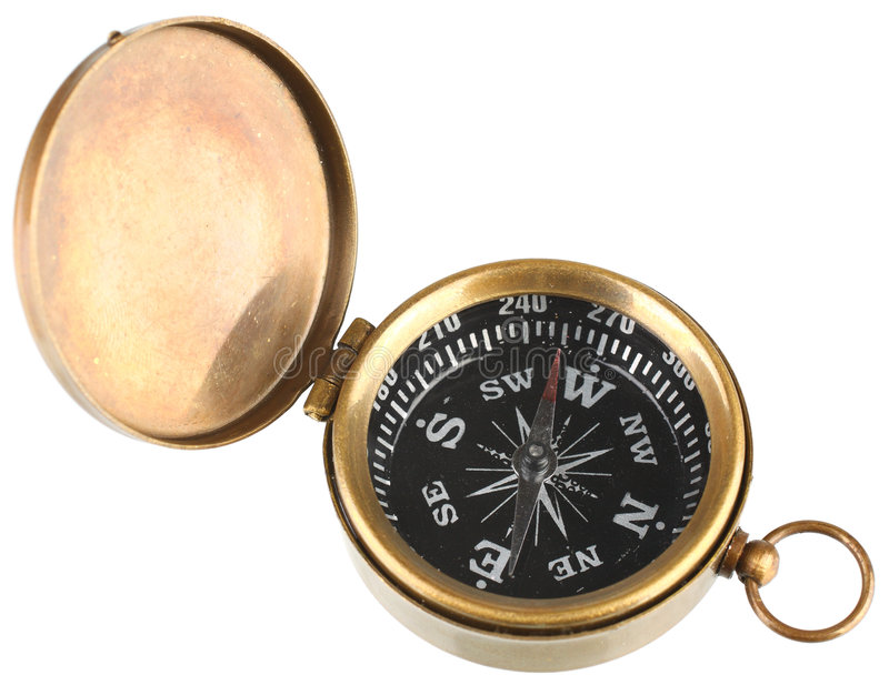 Download Isolated Compass stock image. Image of vintage, fashioned - 8073225