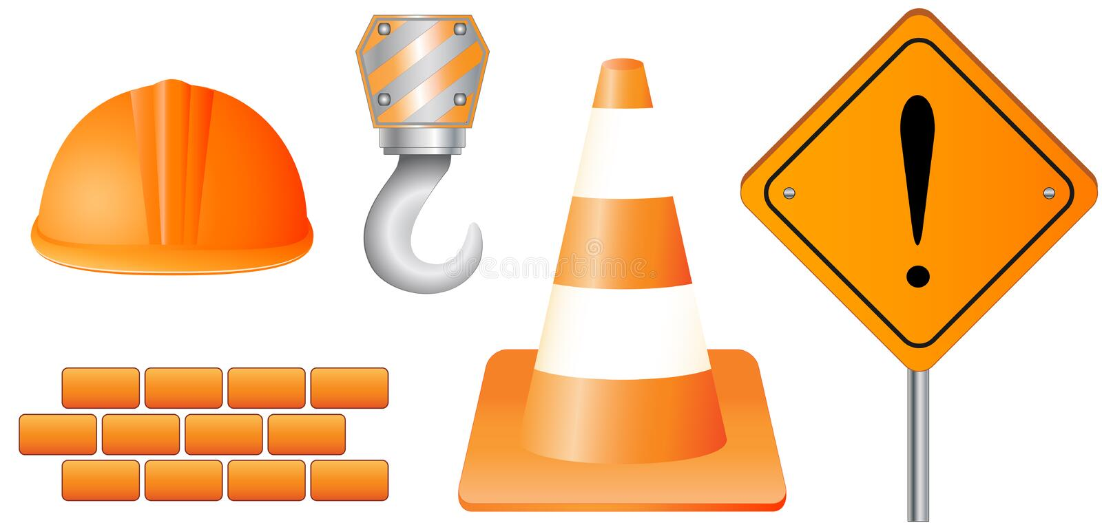 Isolated Construction Object Stock Image