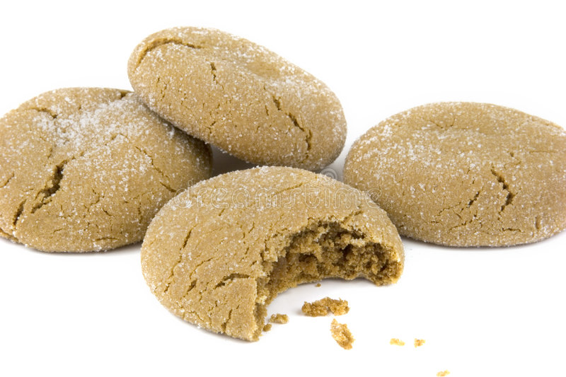 Isolated Cookies royalty free stock photos