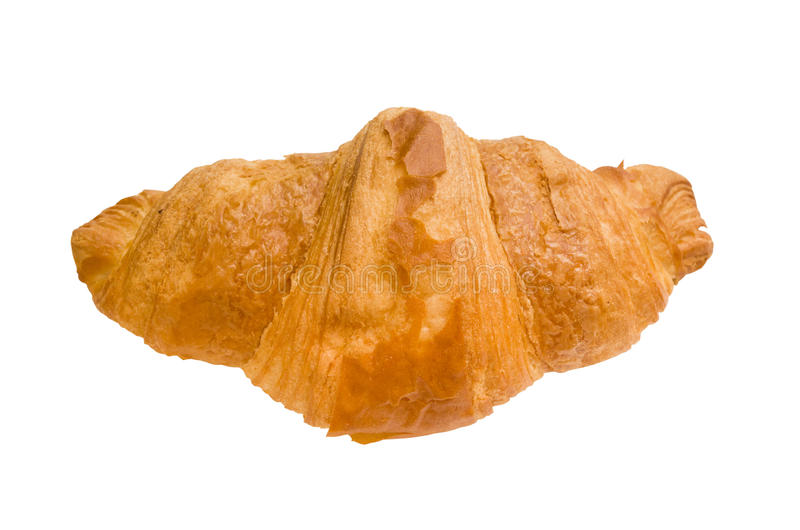 Isolated croissant royalty free stock image