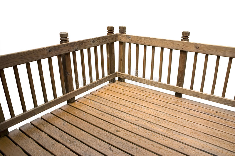 Isolated Deck stock photo