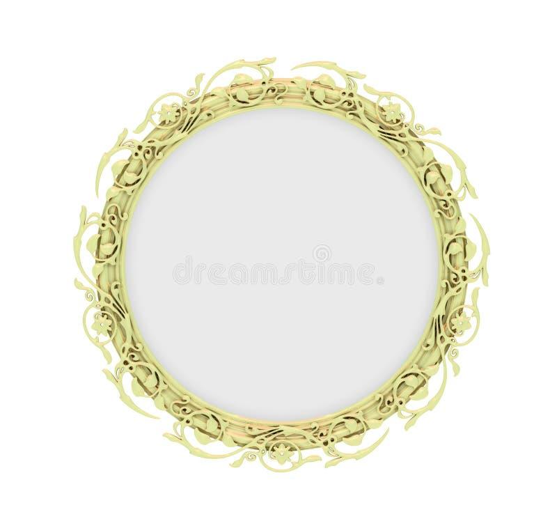 Download Isolated Decorative Golden Frame Stock Illustration - Image: 13226583