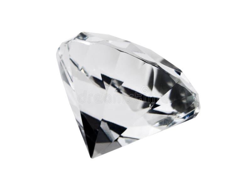 Isolated Diamond stock photo