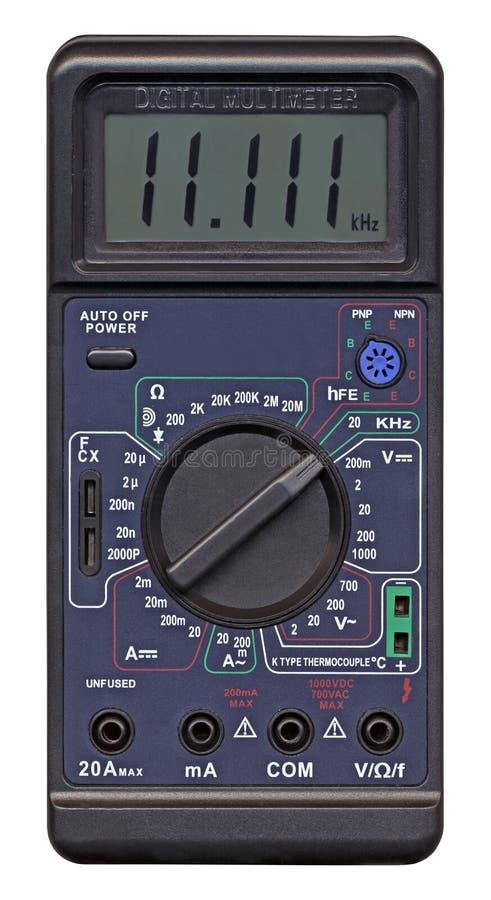 Download Isolated Digital Multimeter, Measurement, Stock Image - Image: 12460431