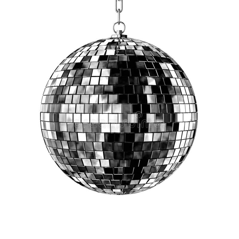 Free Isolated Disco Ball Royalty Free Stock Photo - 10754375