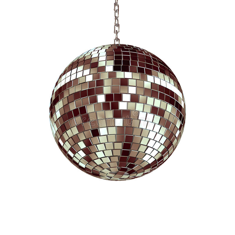 Free Isolated Disco Ball Stock Photography - 10861432