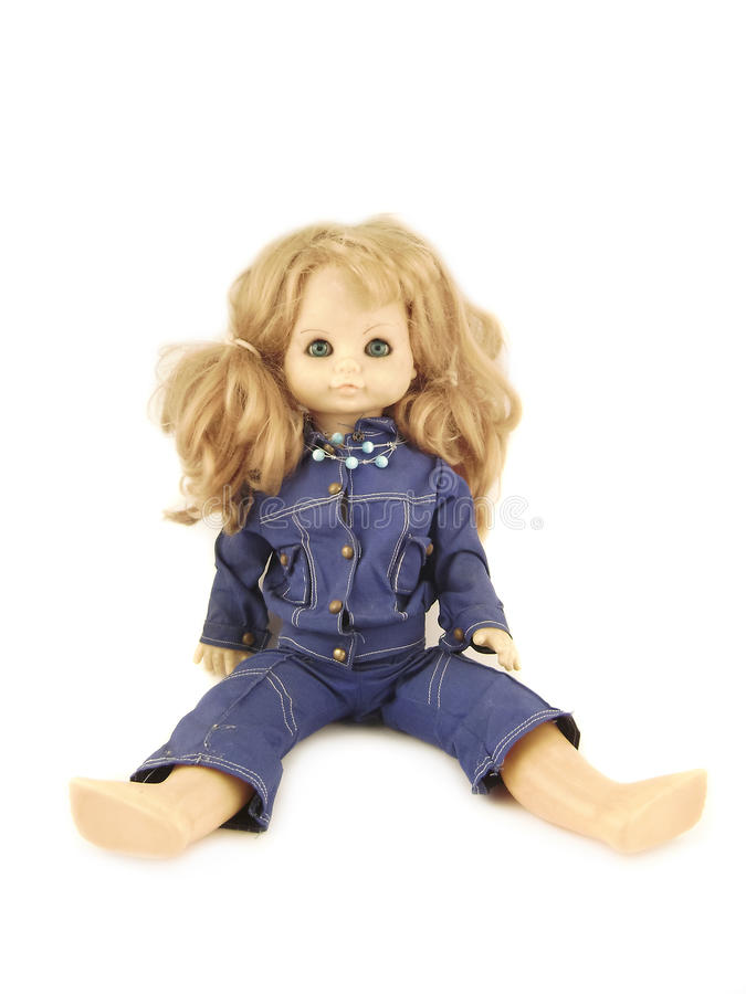 Free Isolated Doll Toy Royalty Free Stock Images - 18230129