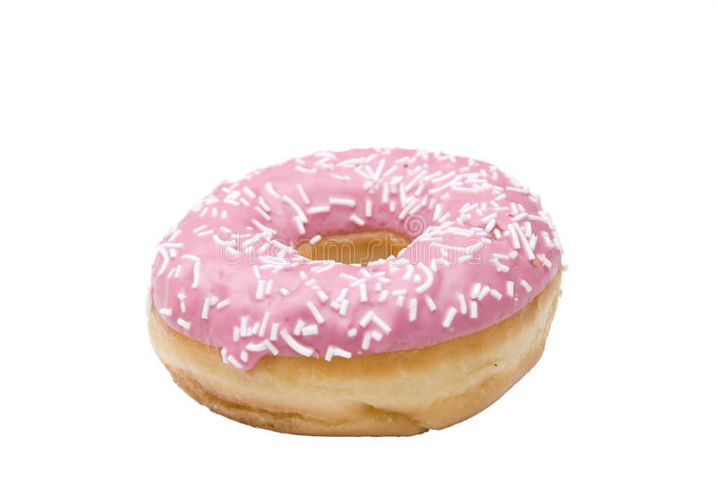 A isolated doughnut royalty free stock images