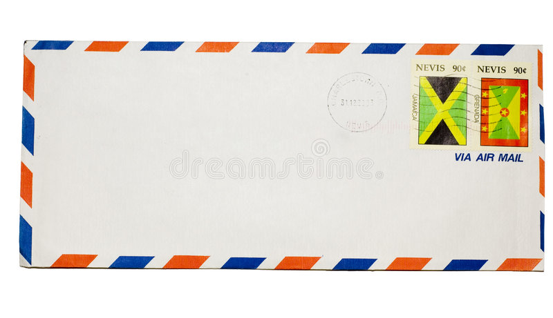Download Isolated envelope stock photo. Image of paper, packet - 1700532