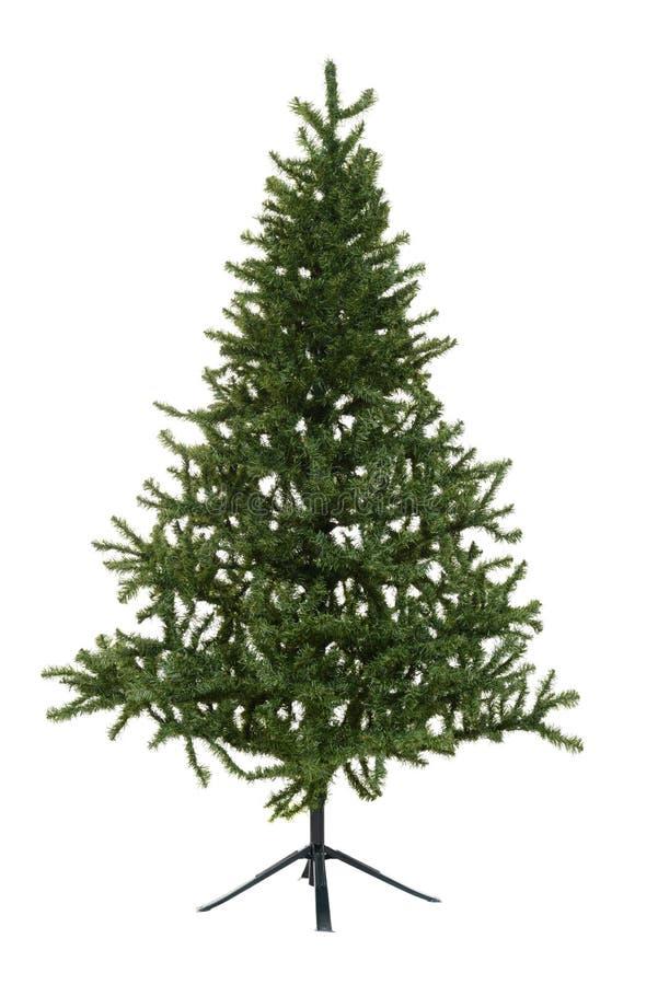 Isolated fake christmas tree stock photos