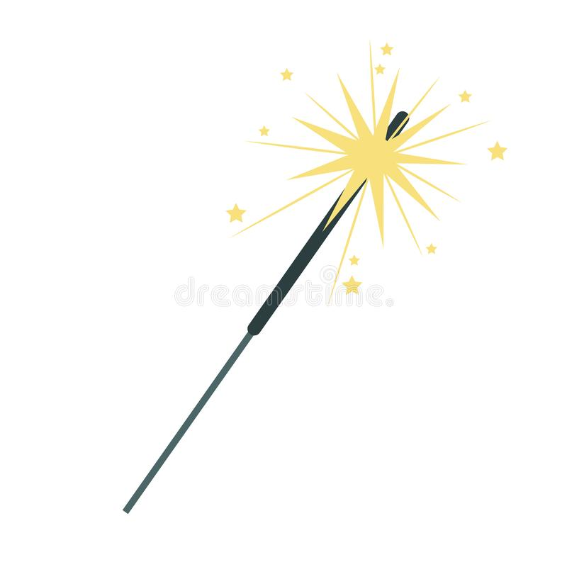 Isolated firework symbol design vector illustrator. Firework design, Celebration festival event holiday party anniversary and explosion theme Vector illustration royalty free illustration