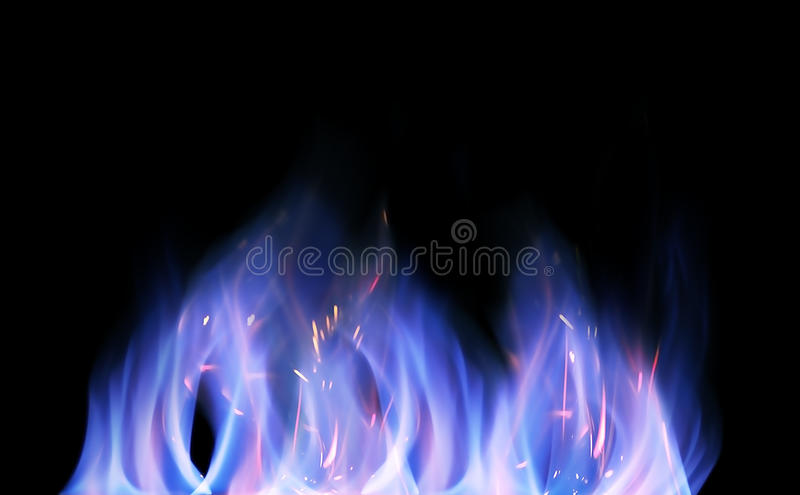Download Isolated flames stock image. Image of blazing, abstract - 11747237