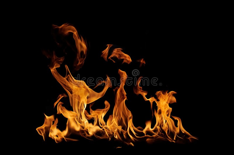 Download Isolated Flames Stock Images - Image: 7361234
