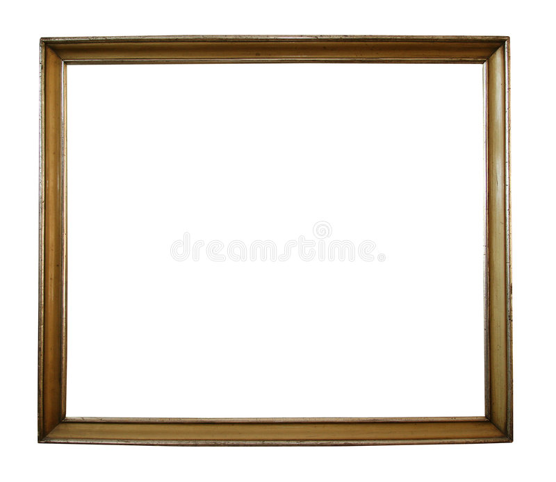 Isolated frame w/ path stock illustration