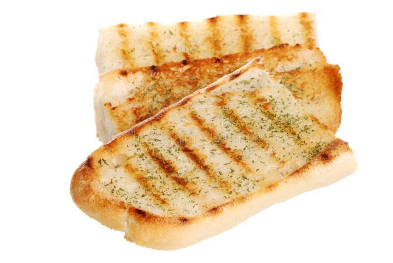 Isolated Garlic Bread Stock Photography