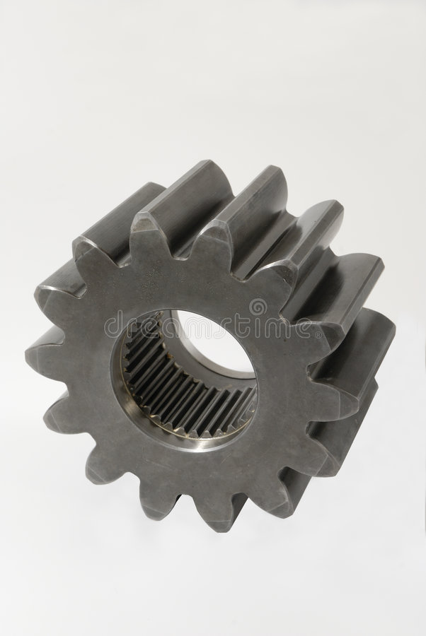 Download Isolated gear stock image. Image of machine, cogwheel - 1706907