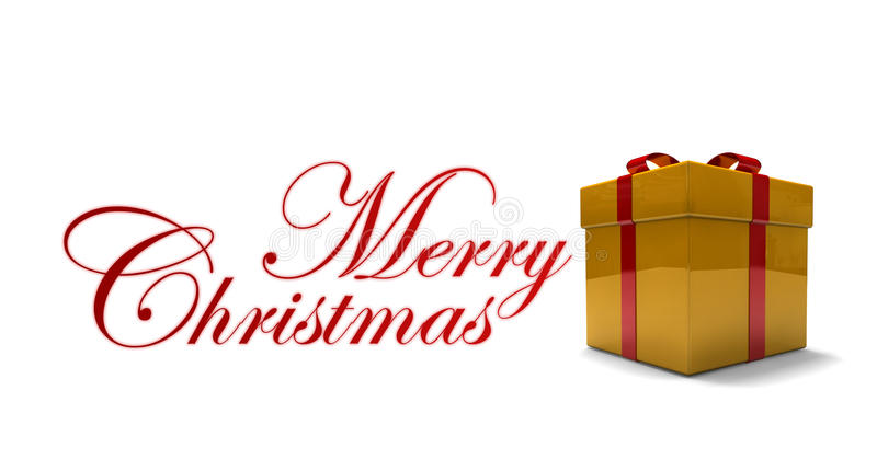 Download Isolated Gift Box Royalty Free Stock Photo - Image: 27062795