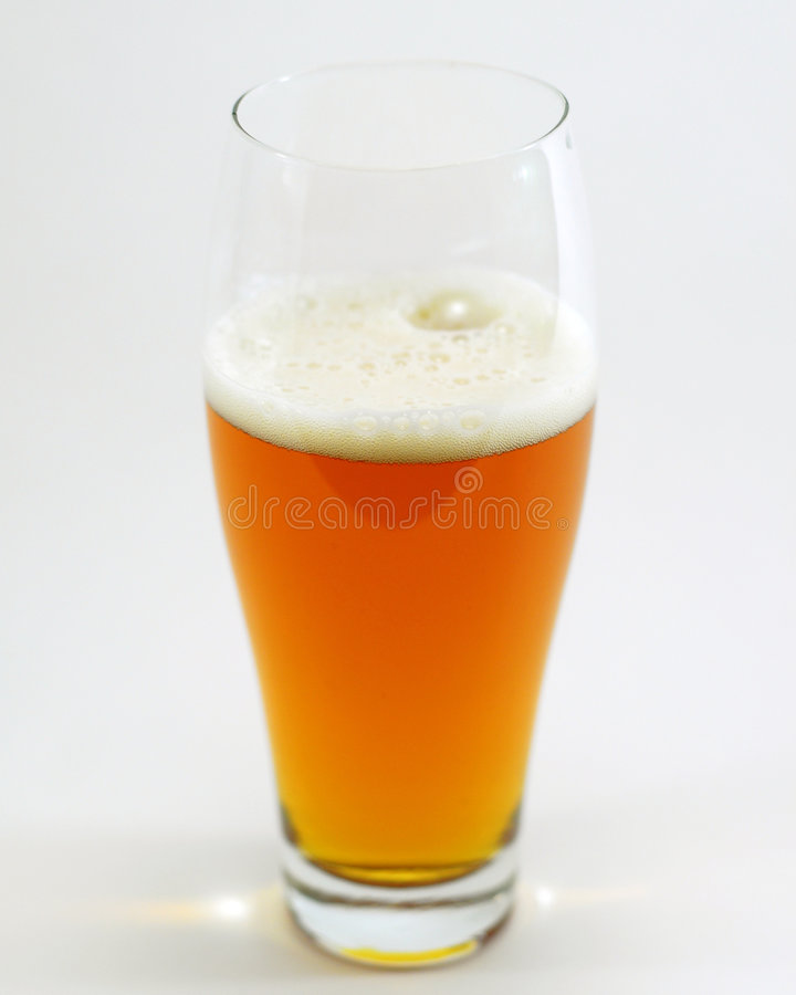 Download Isolated glass of beer stock photo. Image of bock, drink - 4364088