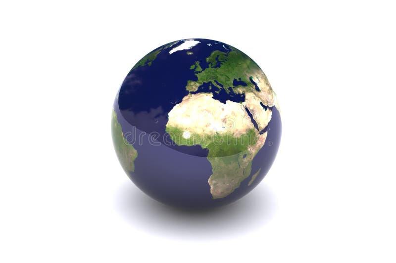 Download Isolated Globe (Europe) stock illustration. Illustration of england - 4672513