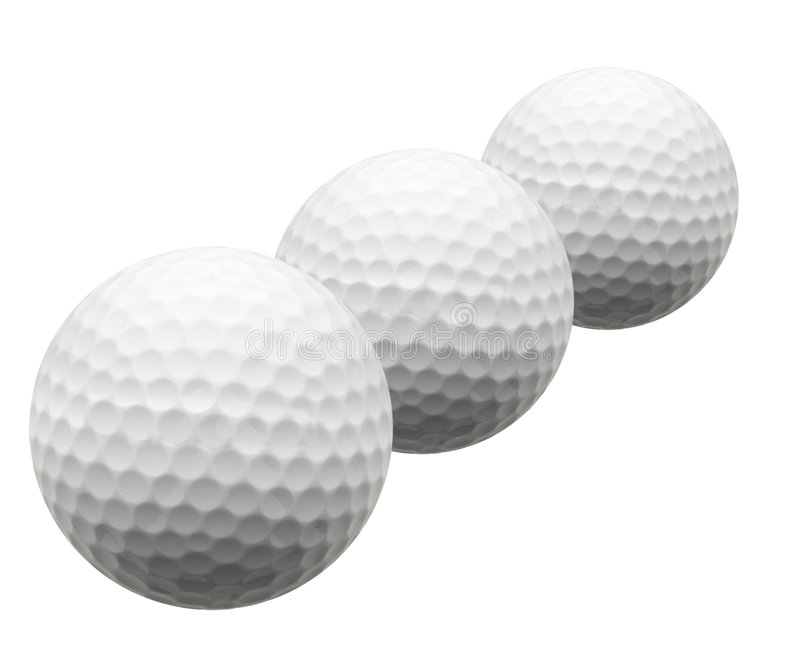 Download Isolated Golf balls stock image. Image of colorful, sport - 3191177