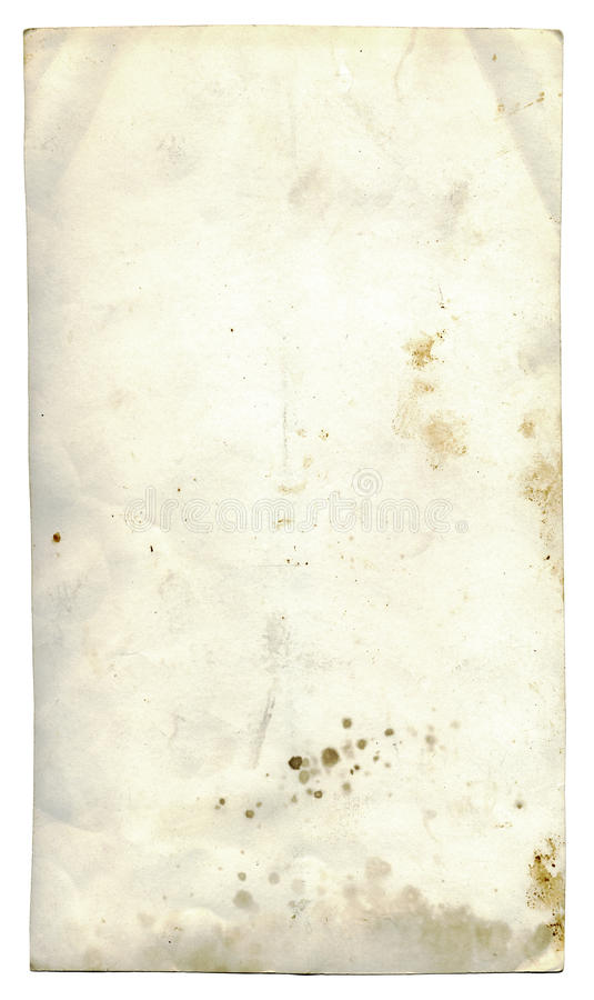 Isolated grunge paper stock images