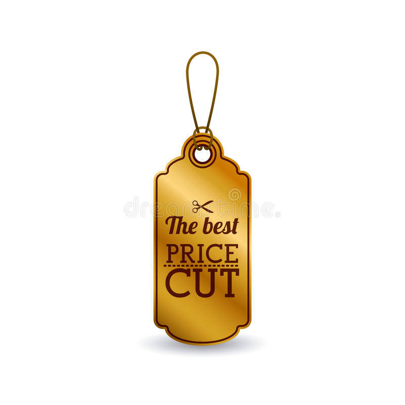 Isolated hanging tag design vector illustration