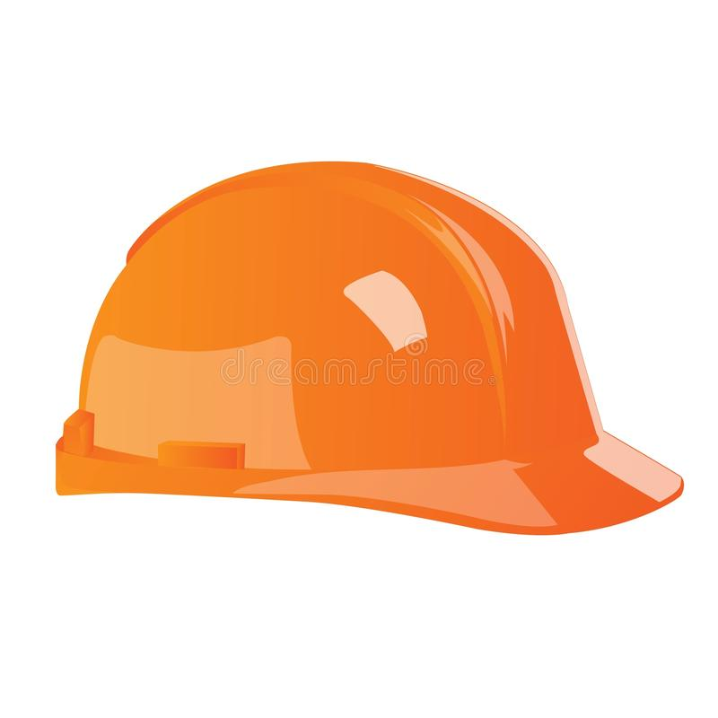 Isolated Hard Hat Royalty Free Stock Image