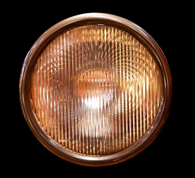 Isolated headlamp stock photos