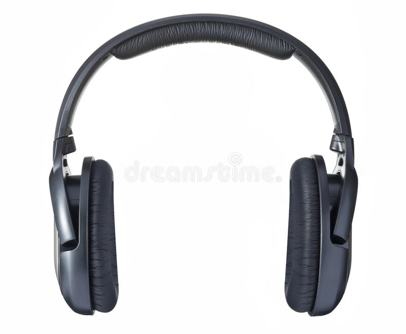Isolated Headphones stock photos