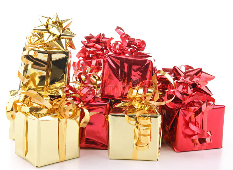 Download Isolated heap of presents stock photo. Image of background - 21652992