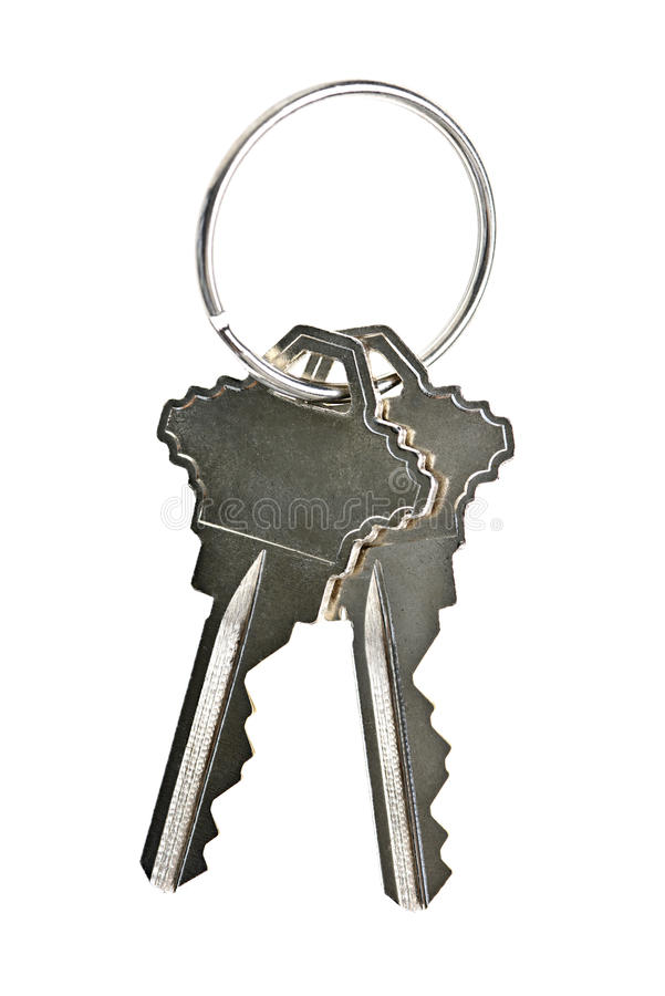 Free Isolated House Keys Royalty Free Stock Photo - 26393595