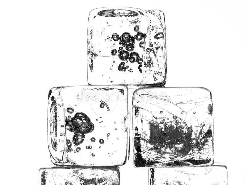 Download Isolated Ice Cubes stock image. Image of freezing, close - 18933127