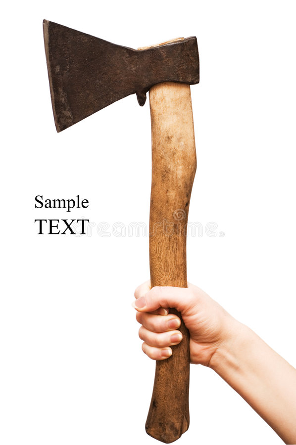 Free Isolated Image Of Axe Royalty Free Stock Images - 8690549