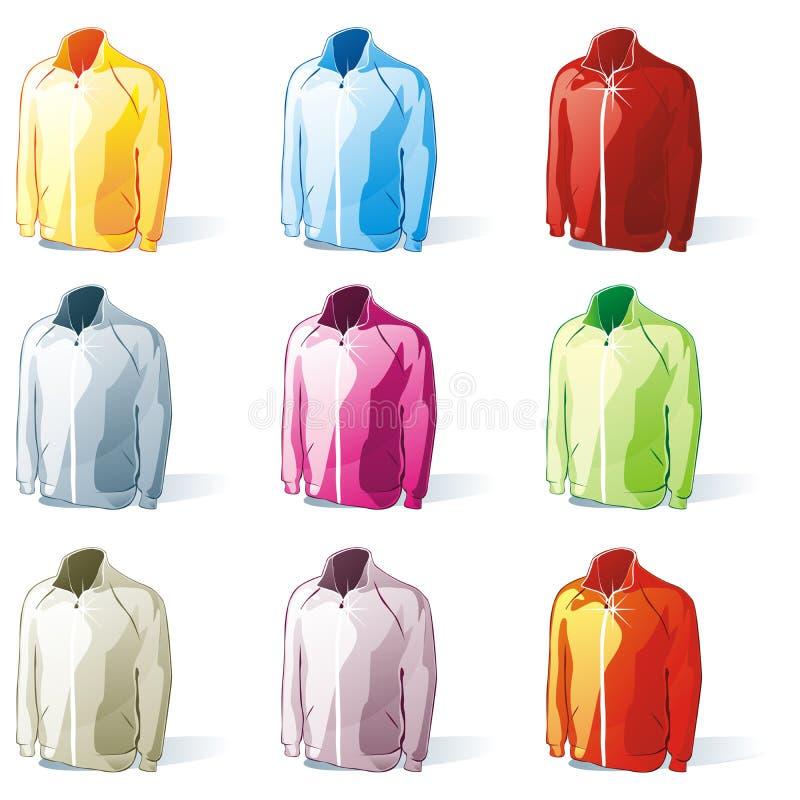 Download Isolated jacket set stock illustration. Image of teenage - 14288301