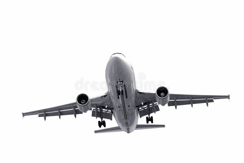 Isolated jet stock images