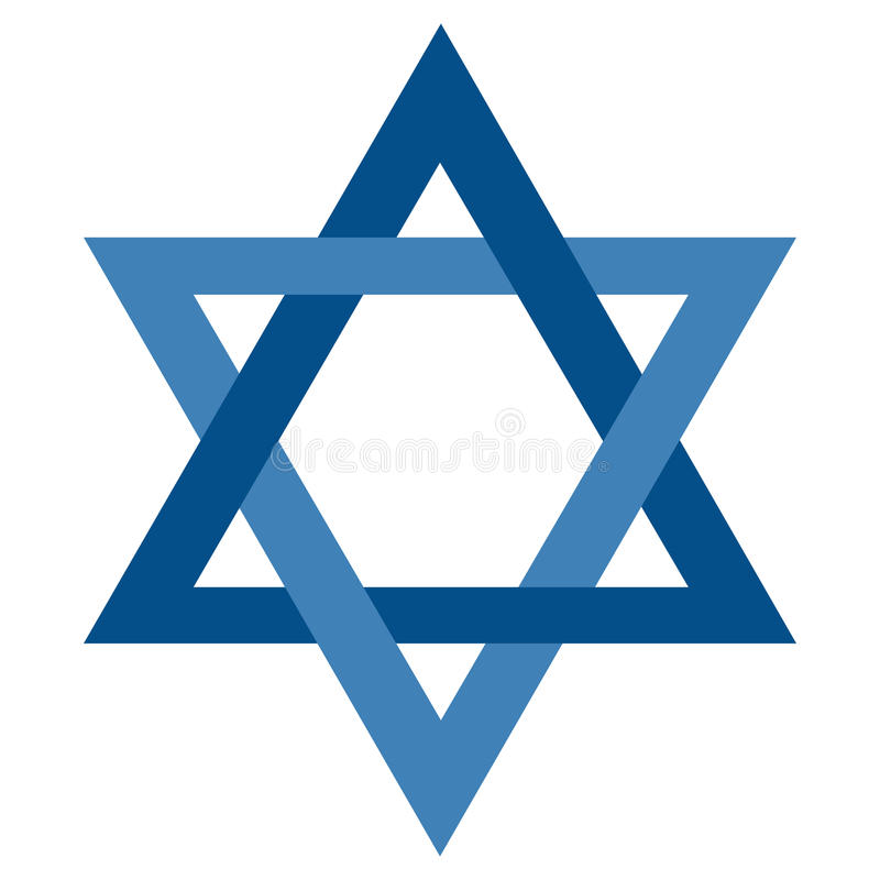 Free Isolated Jewish Star Royalty Free Stock Images - 93511699