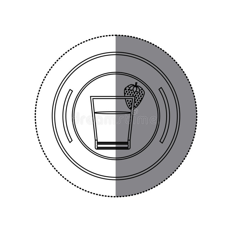Isolated juice design. Juice icon. Organic healthy and fresh food theme. Isolated design. Vector illustration vector illustration