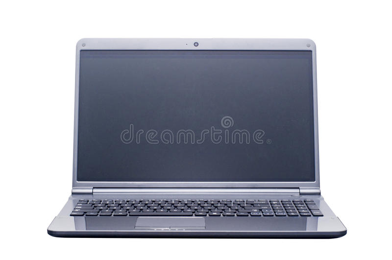 Download Isolated laptop computer stock photo. Image of education - 25075410