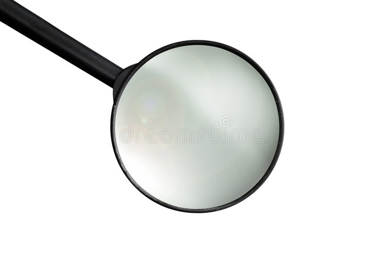 Download Isolated loupe stock photo. Image of lente, lupa, white - 23497696
