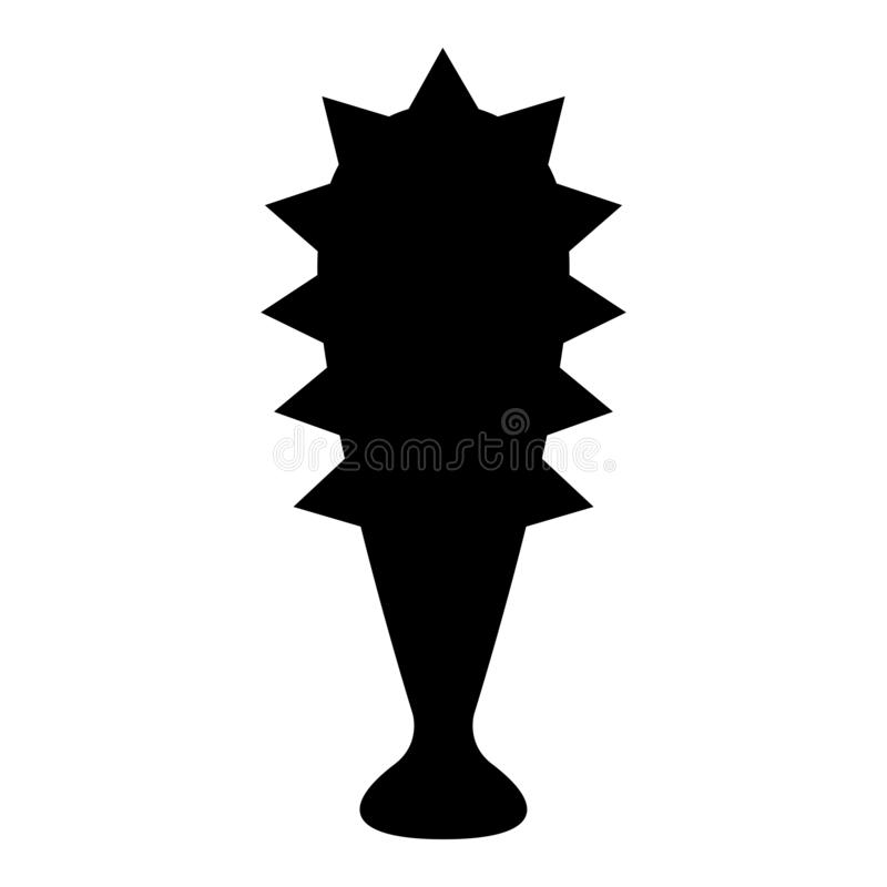 Isolated mace icon. Image. Vector illustration design stock illustration