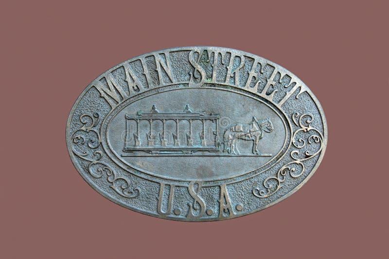Main Street USA stock images