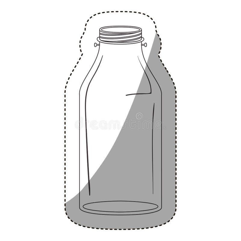 Isolated mason jar design royalty free illustration